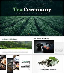 Tea ceremony - Easy Google Slides_9 slides