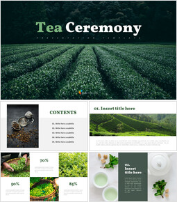 Tea ceremony - Easy PPT Template_9 slides