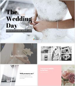 The Wedding Day Simple Slides Design_00