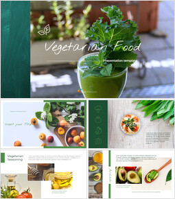 Vegetarian Food Google Slides Themes for Presentations_00