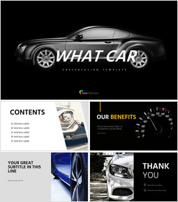 What car Simple Presentation Google Slides Template_00