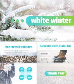 White winter Easy Google Slides_00