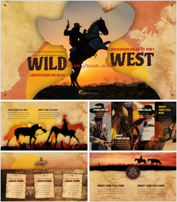 Wild West Google Slides Themes for Presentations_00