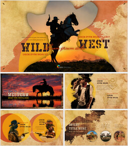 Wild West Theme Presentation Templates_00