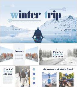 겨울 여행 심플한 템플릿_00