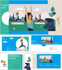 Yoga life Presentation Google Slides Templates_00