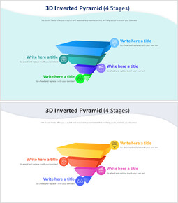 3D 반전 피라미드 다이어그램(4단계)_00
