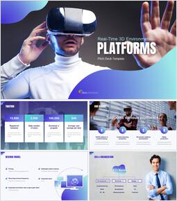 Presentación de plataformas 3D Temas de Presentaciones de Google_00