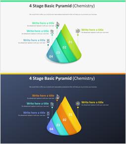 4 단계 기본 피라미드 다이어그램 (화학)_00