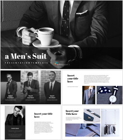 A Men\'s Suit Google Presentation Slides_00