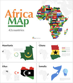 Africa Map (42countries) Keynote mac_00