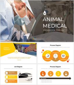 동물 의료 Google 슬라이드 프레젠테이션 템플릿_00