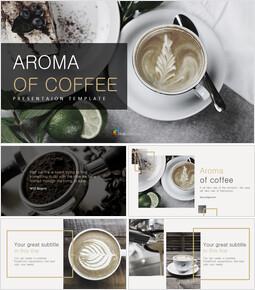 커피의 향기 구글슬라이드 템플릿_00