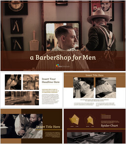 BarberShop Google Slides Template Design_40 slides