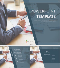 Business Meeting - Free Powerpoint Templates Design_00
