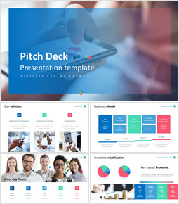Business Social Network Pitch Deck Google Slides Templates_00