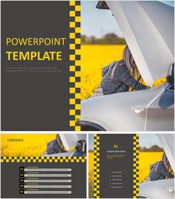 Car Fixing - Free PPT Sample_6 slides