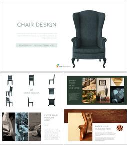 의자 디자인 테마 프레젠테이션 템플릿_00
