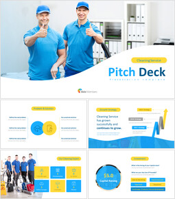 Cleaning Service Simple Google Slides Templates_00
