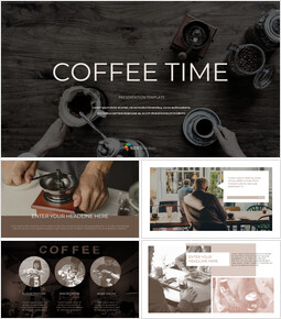 Coffee Time Google Slides Template Design_00
