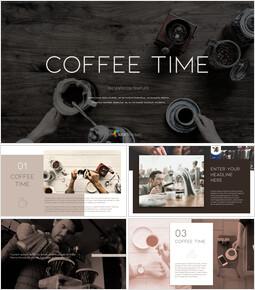 커피 타임 PPT 프레젠테이션_00