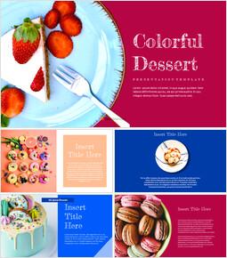 Colorful Dessert Google Slides Themes & Templates_00