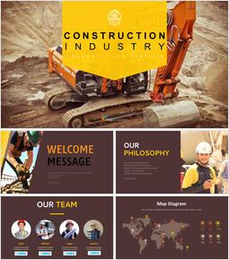 건축 산업 Google 슬라이드 프레젠테이션 템플릿_00