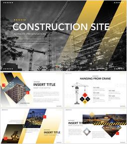 Construction Multipurpose Presentation Keynote Template_00
