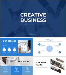 Entreprise créative Modèles de présentation Google Slides_30 slides