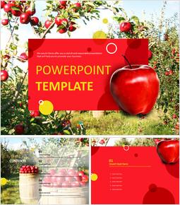 맛있는 사과 - 무료 템플릿 디자인_00