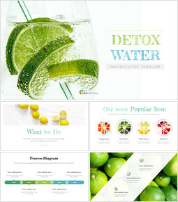 Detox Water Google Slides Template Design_00