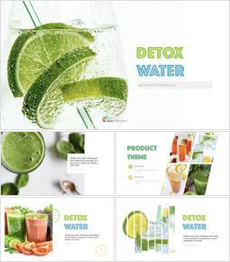 Detox Water Simple Keynote Template_30 slides