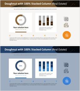 100 % 누적 기둥이있는 도넛 (부동산)_00
