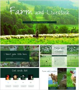 농장과 가축 프레젠테이션용 Google 슬라이드_00