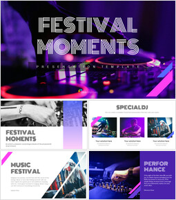 Festival Moments Simple Google Slides Templates_00