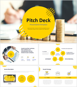 Pitch Deck Finanza Templates Design_00
