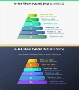 접힌 리본 피라미드 계단 다이어그램 (화학)_00