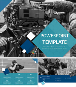 Free Powerpoint Sample - Film Shooting_00