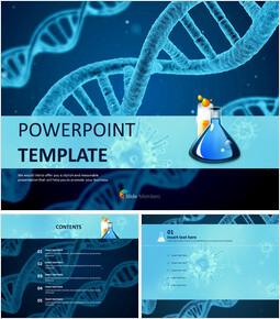 무료 PPT 샘플 - 생물학_00