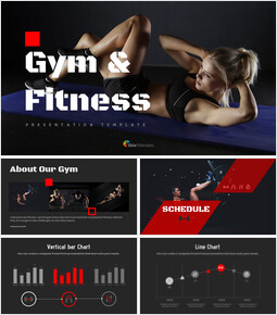 Gym and Fitness Google Slides Themes for Presentations_00
