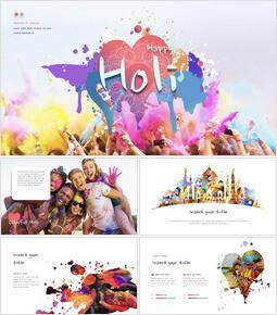 Happy Holi Keynote Presentation Template_00