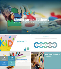 Kindergarten Business Google Slides Themes_00