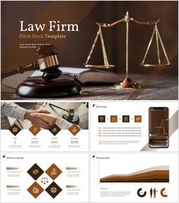 법률 사무소 피치덱 PowerPoint 프레젠테이션 템플릿_00