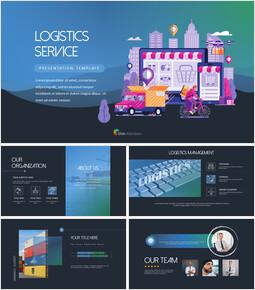 Logistics Service PowerPoint Templates_00