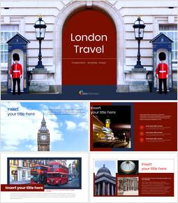 런던 여행 구글슬라이드 템플릿 디자인_00