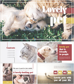 Lovely Pet Simple PowerPoint Templates_00
