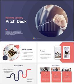 Marketing Pitch Deck Keynote_14 slides