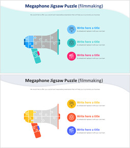 Megaphone Jigsaw Puzzle Diagram (filmmaking)_00