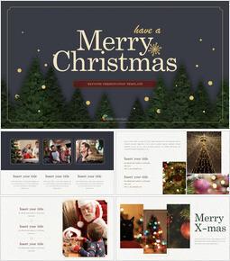 Merry Christmas Multipurpose Presentation Keynote Template_00