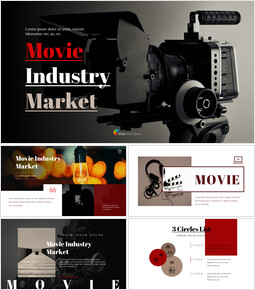 Movie Presentation PowerPoint Templates Design_00